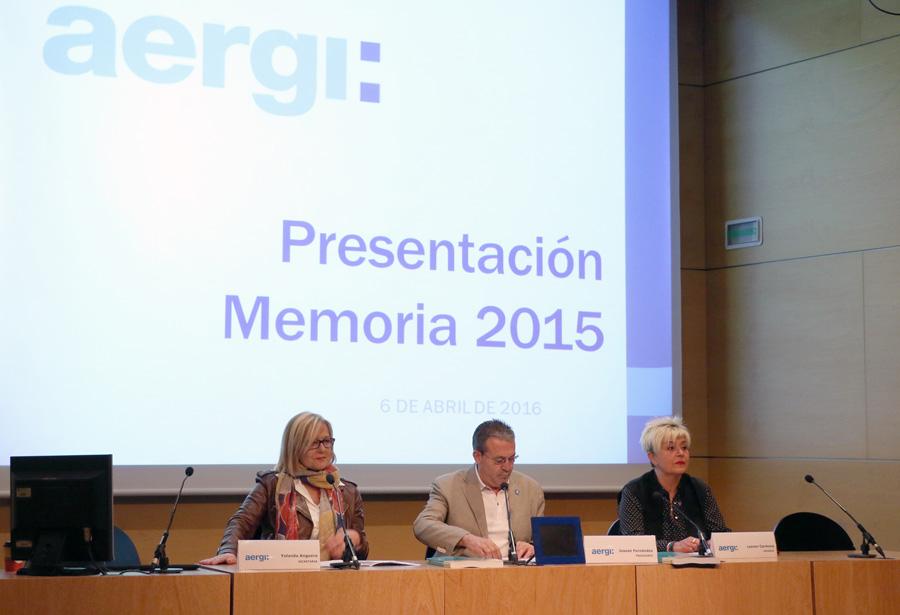 presentación Memoria AERGI 2015