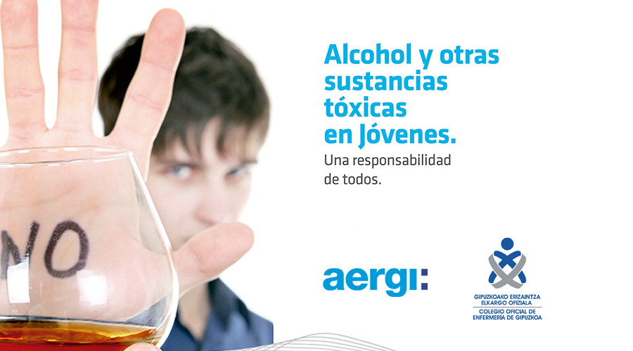 AERGI charla sobre alcohol y drogas en jóvenes en el COEGI