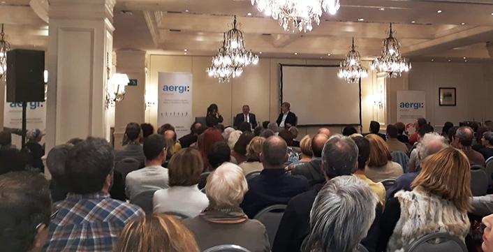 AERGI coloquio neurologia y adiccion con Gurutz Linazasoro en el dia sin alcohol 2019