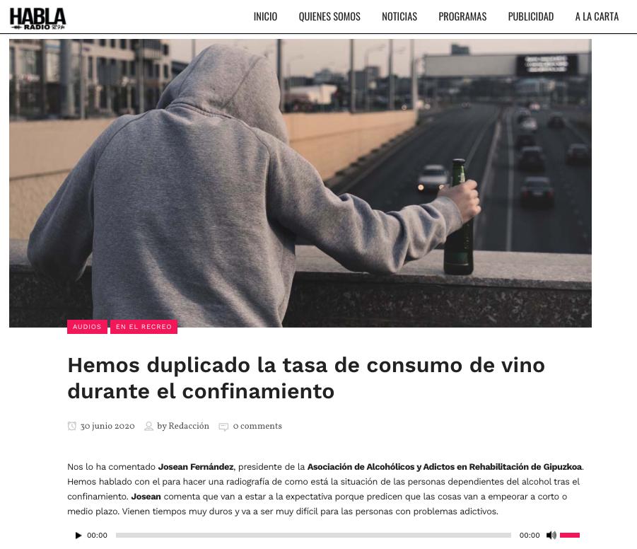 cuarentena incrementa tasa alcohol